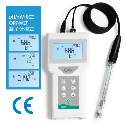 twinno PH200 pH / mV / ORP / Ion / Temp 五功能掌上型水質測試儀